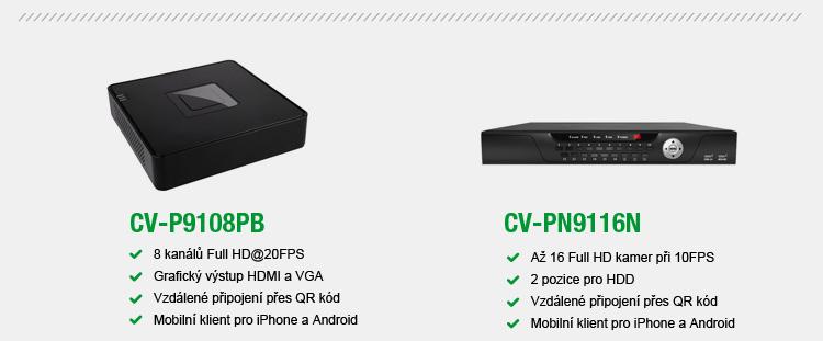 CAMVIA - Miniaturní NVR pro Full HD kamery
