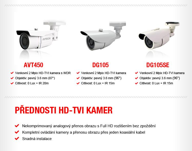 HDCCTV AVTECH - kompletně skladem pouze u VIAKOMu