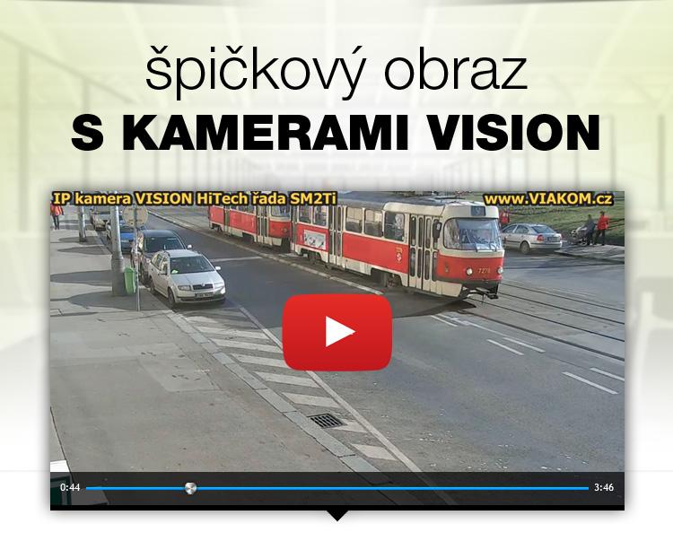 Špičkový obraz s kamerami VISION