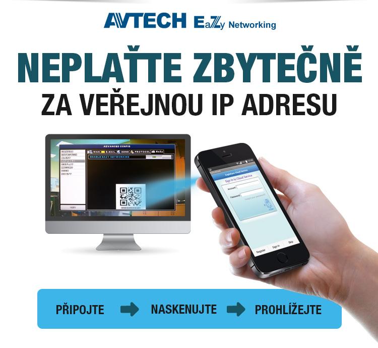AVTECH - neplaťte zbytečně za veřejnou IP adresu