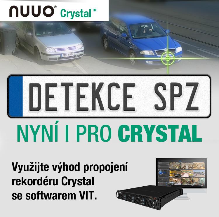 NUUO - detekce SPZ nyní i pro Crystal