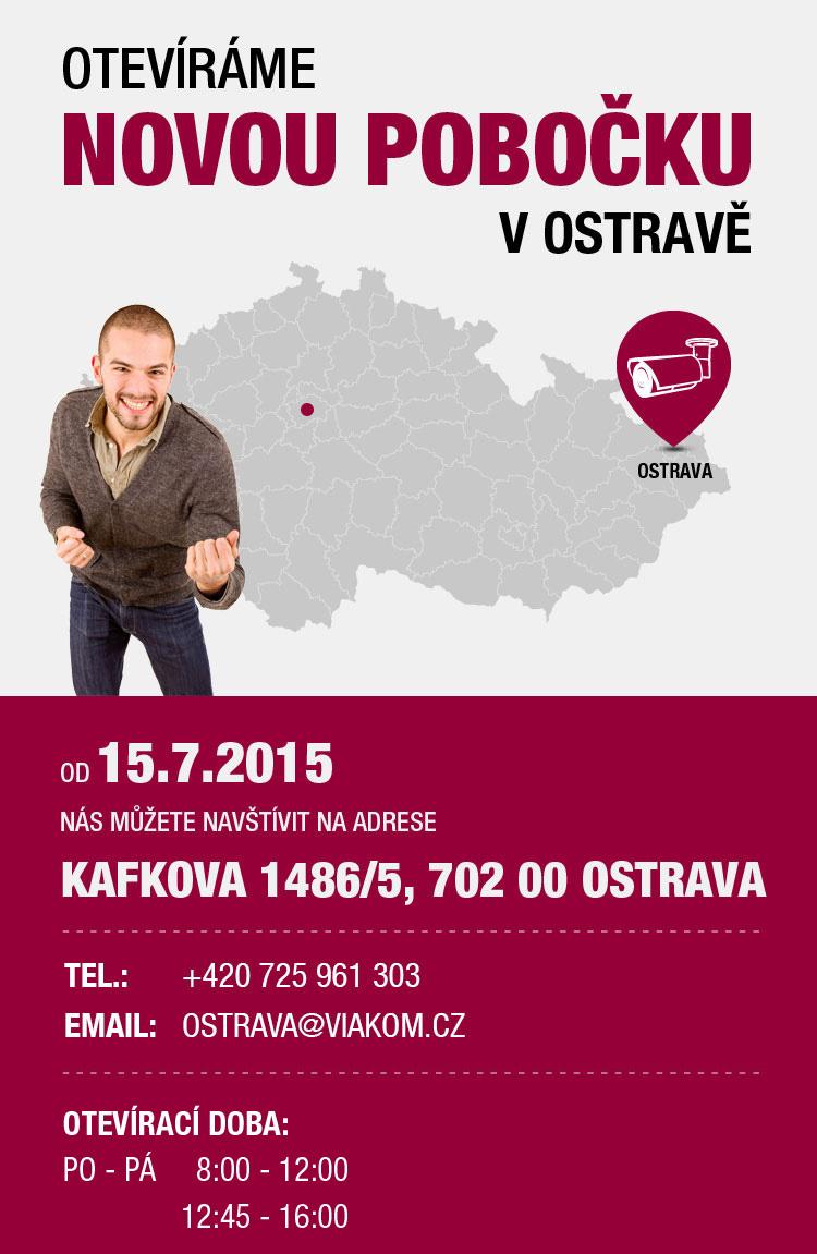 Otevíráme novou pobočku v Ostravě AVM-552