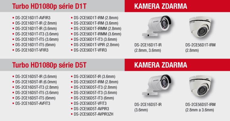 AKCE HIKVISION - 3+1 - k odběru ihned kamery i nahrávací zařízení!