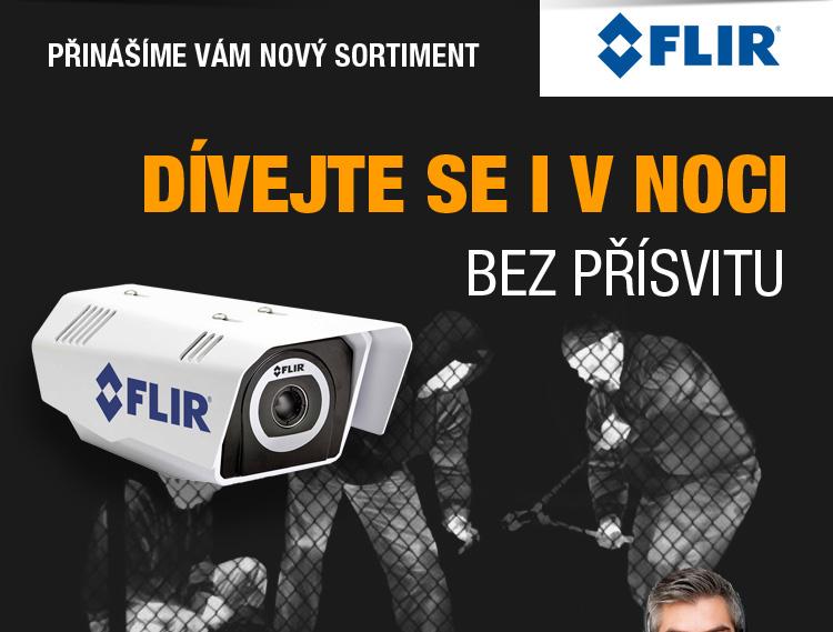 FLIR - dívejte se i v noci bez přísvitu