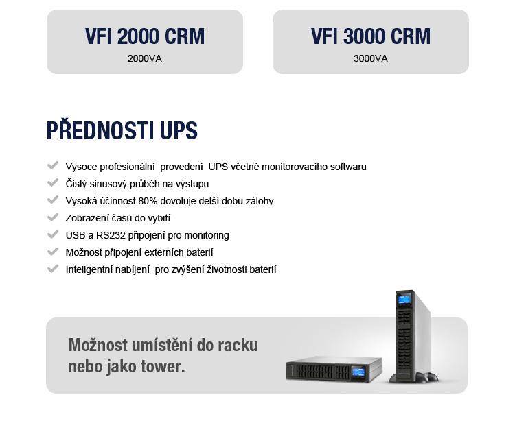 Nové UPS v sortimentu - důležitá součást každého kamerového systému!