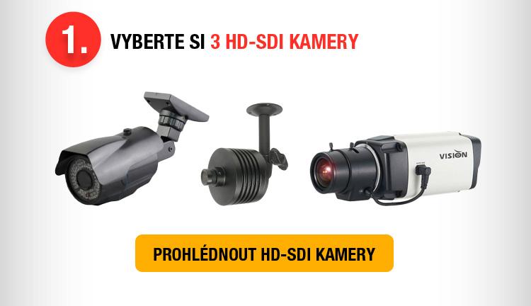 AKCE - 60% sleva na DVR při současném nákupu 3 HD-SDI kamer