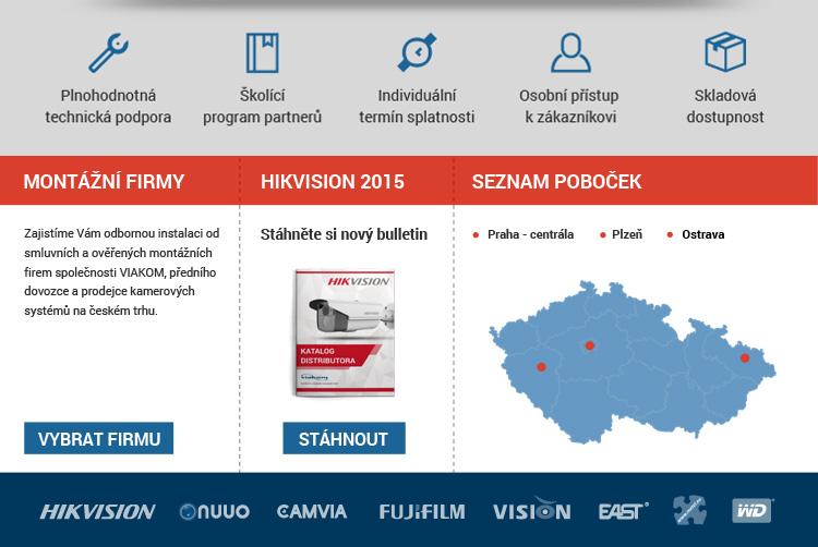 Hikvision PTZ ihned k odběru - buďte v pohybu