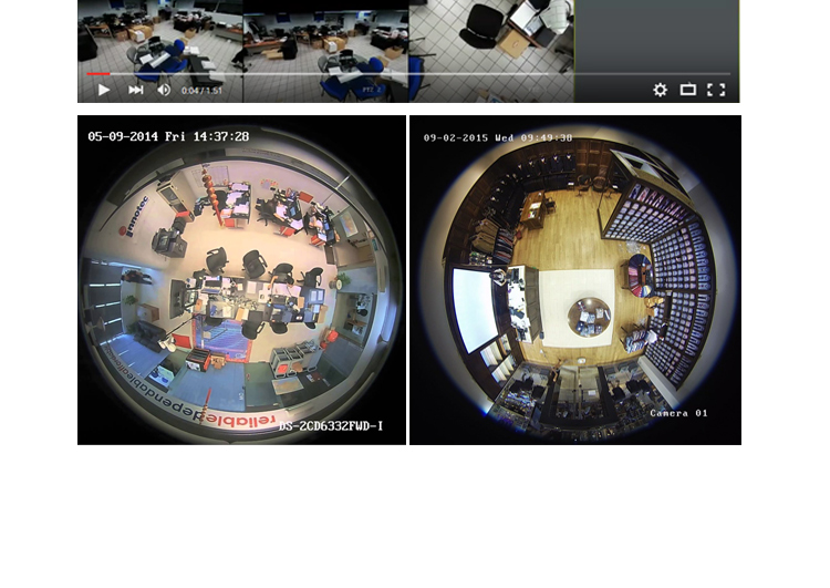 HIKVISION FishEye kamery s rozlišením 6 megapixelů