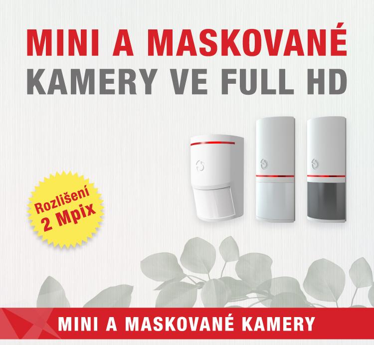 VIAKOM - Mini a maskované kamery ve FullHD
