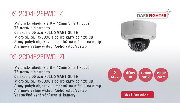 Profesionální řada kamer DARKFIGHTER pro extrémní nasazení