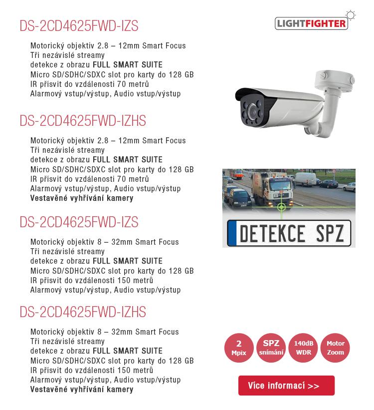 Profesionální řada kamer LIGHTFIGHTER pro extrémní nasazení