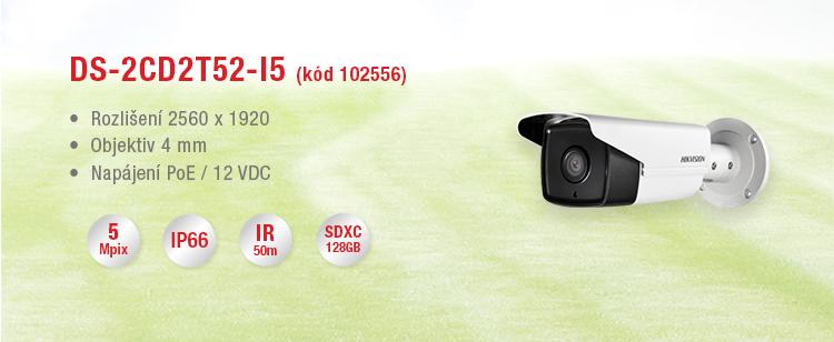 Novinky - 5Mpix kamery Hikvision skladem.