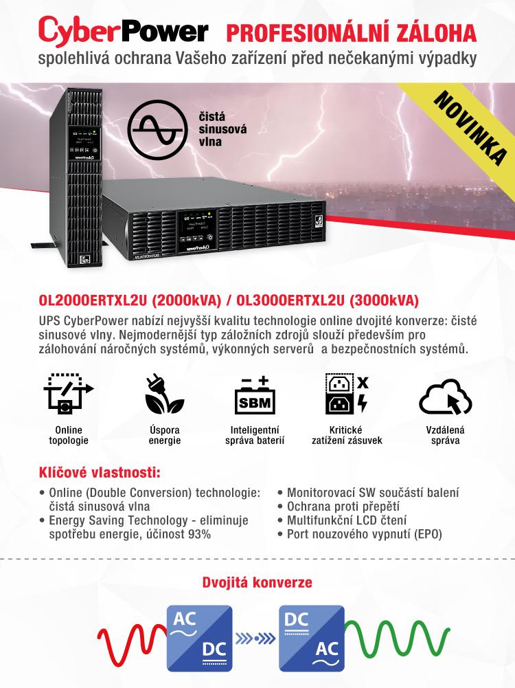 VIAKOM - profesionální UPS  - Cyber Power