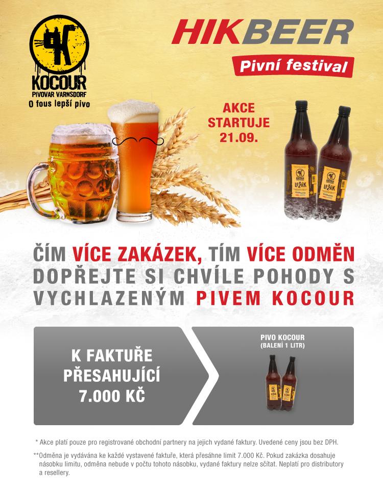 VIAKOM - 20.9. u nás startuje HIKBEER festival s o fous lepším pivem